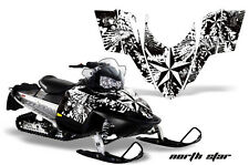 AMR Racing Sled Wrap Polaris Switchback Snowmobile Graphics Kit 06-10 NORTHSTR W