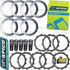 Apico Clutch Kit Steel Plates & Friction Plates For Suzuki RMZ 250 2011 MotoX