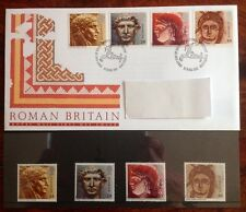 ROMAN BRITAIN ~15th June 1993 Mail First Day Cover + 4 mint MNH stamps