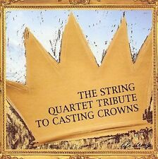 FREE US SH (int'l sh=$0-$3) USED,MINT CD Tribute to Casting Crowns: String Quart