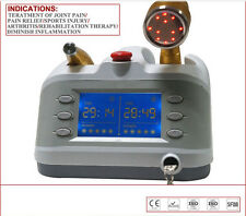 LLLT 2 Probes 650nm&808nm LOW LEVEL COLD LASER THERAPY Physiotherapy Pain Relief