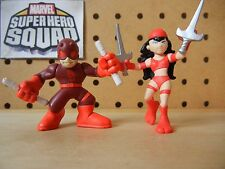 Marvel Super Hero Squad COMPLETE Wave 2: DAREDEVIL & ELEKTRA