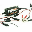 12V 1.5AMP Lead Acid Battery Charger Maintainer for Car, Truck, Boat, Motorcycle