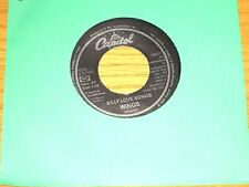 "70s ROCK 45 RPM - WINGS - CAPITOL 4256 - ""SILLY LOVE SONGS / COOK OF THE HOUSE"""