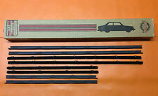 1965 CHEVY CHEVELLE 4 DOOR SEDAN WINDOW FELT KIT SWEEPS WHISKERS TRIM FIZZIES