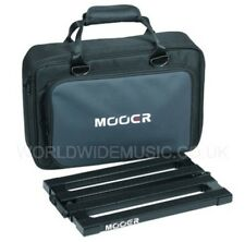Mooer PB10 Stomplate Maxi Folding Pedal Board for 10 pedals in a Soft Carry Bag