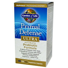 Primal Defence Ultra - Ultimate Probiotic Formula - 180 UltraZorbe Vcaps