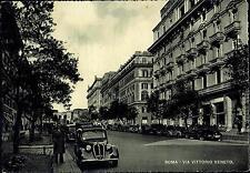 ROMA - Via Vittorio Veneto - Anni '50 - '60- Rif. 4 PI