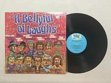 A BELLYFUL OF LAUGHS BILLY CONNOLLY RONNIE CORBETT PETER COOK 1982 AUSTRALIAN LP