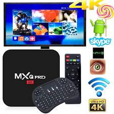 MXQ PRO 4K S905 Quad Core Wifi Android 5.1 8GB Smart TV Box + Keyboard