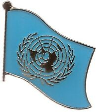 LOT OF 12 United Nation Flag Lapel Pins - UN Flag Pin