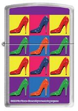 ZIPPO POP ART SHOES BRIQUET TOUT TEMPS ENTIEREMENT NEUF LM