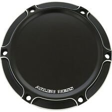 Arlen Ness Black Beveled Ness-Tech Derby Cover For Harley - 03-472
