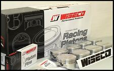 """SBC CHEVY 383 WISECO FORGED PISTONS & RINGS 4.030 FLAT TOP USES 6"""" RODS KP451A3"""
