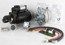 NEW 24 TO 12 VOLT ALTERNATOR AND STARTER KIT JOHN DEERE TRACTOR 4020 TY16172