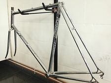 NOS rare Vintage CHROM Rossin 1 gen. Frame set + Panto Rossin part unused  60cm