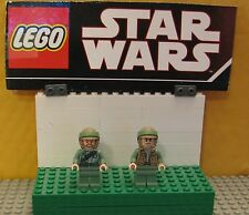 "STAR WARS LEGO LOT  MINIFIGURE--MINI FIG  ""  LOT OF 2 ENDOR REBELS  """