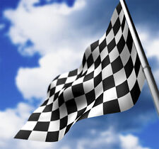 Nascar checkered flag NEW 3X5 ft SPORTS BANNER 90x150cm with satin type material