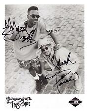 DJ JAZZY JEFF FRESH PRINCE REPRINT AUTOGRAPHED SIGNED PICTURE PHOTO WILL SMITH