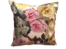 DESIGNERS GUILD FABRIC ORANGERIE ROSE  CUSHION COVER 18x18' #1