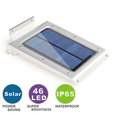 46 LED Solar Power Motion Sensor Outdoor Waterproof Garden Security Lamp Light