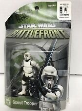 Star Wars BATTLEFRONT SCOUT TROOPER Action Figure Video game exclusive