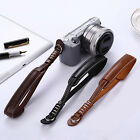 Fashion Leather Camera Hand Wrist Strap For Sony Samsung Panasonic Black