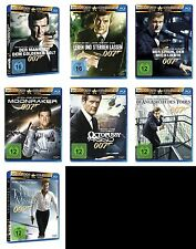 007 x JAMES BOND Complete Collection ROGER MOORE Edition BLU-RAY Sammlung Neu