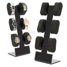 Acrylic Jewelry Bangle Bracelet Wristwatch Watch Display Storage Stand Rack Hot