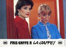 MARIE-ANNE CHAZEL LORRAINE BRACCO FAIS GAFFE A LAGAFFE ! 1981 PHOTO 1  FRANQUIN