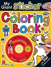 My Giant Sticker Coloring Book with CD 1 (Giant Sticker Activity) by Priddy, Rog