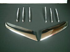 04-10 DB R171 SLK Chrome Bonnet fins 6pcs + grille strips 2pcs kit