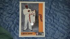 1991 STYLE LEBRON JAMES RARE DRAFT DAY BASKETBALL ROOKIE CARD BLANK BACK