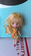 Littlest Pet Shop Blythe Doll Blonde Green Eyes
