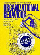 Organizational Behaviour: An Introductory Text, Andrzej Huczynski, David A. Buch