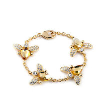 Exquiste Anthropologie Gyovani Fly Yellow Bead Chain Bracelet