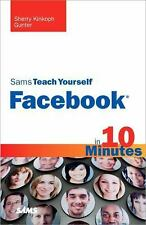 Sams Teach Yourself Facebook in 10 Minutes-ExLibrary