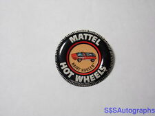 Vintage 1969 MATTEL HAIRY HAULER Hot Wheels RED LINE CAR Pin Back Badge Button