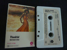 NATALIE COLE THANKFUL ULTRA RARE AUSSIE CASSETTE TAPE!