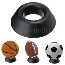 Ball Stand Display Rack Basketball Football Soccer Rugby Support Base Holder