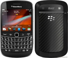 BOXED BlackBerry Bold 9900 - 8GB - Black (Unlocked) Smartphone AZERTY KEY A