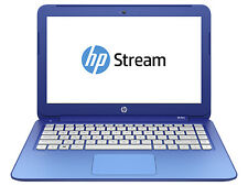 "HP Stream 13-c030nr 13.3"" (32GB, Intel Celeron N, 2.58GHz, 2GB) Notebook - Black"