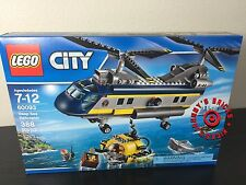 LEGO 60093 City Deep Sea Exploration HELICOPTER *Brand New* SEALED Ships 4 Xmas