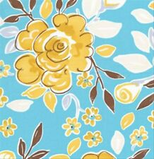 Tea Garden Fabric Dena Designs Darjeeling in Blue DF88 1yd