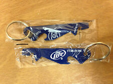 Miller Lite Beer Punch Top Can & Bottle Opener Set of 2 - New  & Free Shipping