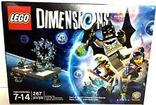 NEW LEGO Dimensions Starter Pack 267 Pc Batman Lord of the Rings Movie minifig��