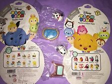 NEW RARE DISNEY TSUM Lucky Patch STACKER VINYL MYSTERY Blind PACK SERIES 1 & 3