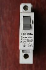 Clipsal ST68 TSB106A 6A type simple B B6 pole 1P mcb mini circuit breaker