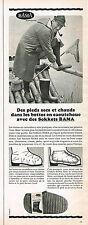 PUBLICITE ADVERTISING 124  1966  BAMA   les sokkets  pour bottes en caoutchouc