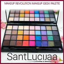 MAKEUP REVOLUTION Ultra 32 Shade Eyeshadow Palette MAKEUP GEEK 32 PIECE BRIGHT